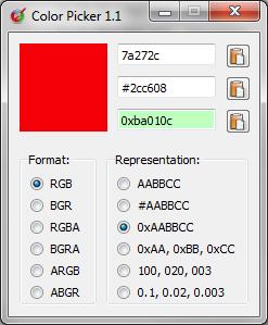 ColorPicker 1.1