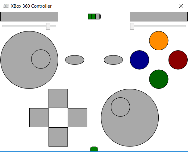 Screenshot of the sample application.